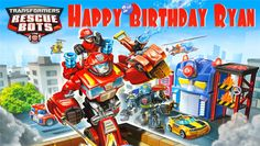 Transformers Rescue Bots Personalized Custom Birthday Banner Party Decoration