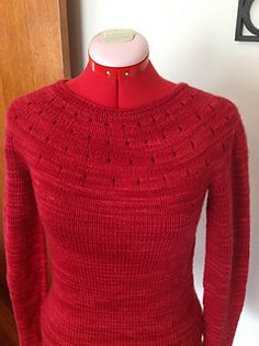"Simplest Sweater by Juliet Romeo Juliet is a really simple design, and SO cute! The ONLY size available is for a 34"" bust (1"" ease). And it's FREE on Ravelry"