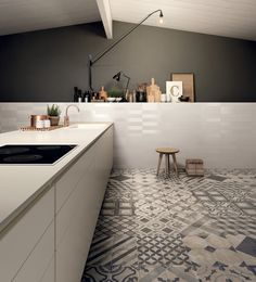 Full-body porcelain stoneware wall/floor tiles TERRA by @marcacorona