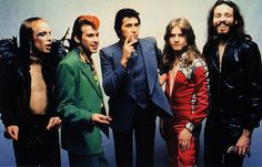 Roxy Music (with Brian Eno on the left)
