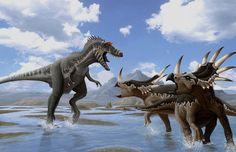Grogosaurus vs. Styracosaurus