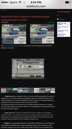 Music Production - Top 10 Music Production Software Apps of 2014 - BTV Professional Music Production Software works as a standalone application or with your DAW as a VST or AU plugin (optional).