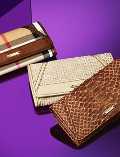 Timeless wallets from the S/S13 accessories collection #burberry #wallet #SS3013