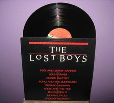 Rare Vinyl Record The Lost Boys Original Soundtrack LP 1987