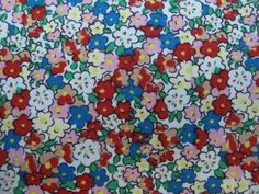 Fabric Godmother - Lucie Floral 100% Cotton  - Multi, £10.00 (http://www.fabricgodmother.co.uk/lucie-floral-100-cotton-multi/)