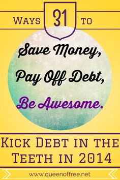 Quitting something always saves! But how should you approach change? Easy & concrete ideas to - Stop It - to  Save Money, & Pay Off Debt.