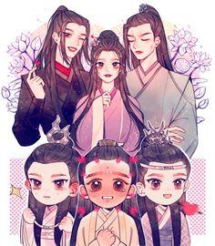 Twitter Manhwa, Chinese Cartoon, The Grandmaster, Shounen Ai, Cute Gay, I Love Anime, Fractal Art, Chinese Art, Live Action