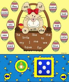 This adorable Sight Word Bunny Smart Board will have your kids wanting to practice their sight words over and over again.  On each page there is a ...