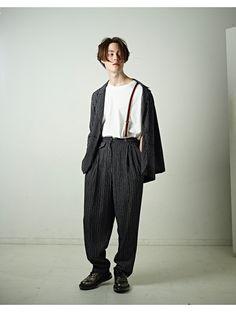 Ref (Sitter Models) x Minswara Foto Fashion, Urban Fashion, 90s Fashion, High Fashion, Fashion Outfits, Androgynous Fashion, Inspiration Mode, Streetwear Fashion, Aesthetic Clothes