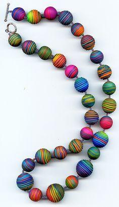 Rainbow Necklace Again by MargitB., via Flickr