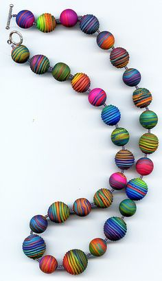 Rainbow Necklace Again by MargitB., via Flickr