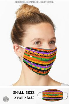 * Halloween Striped Icons Mask / Mouth Cover by #Gravityx9 at Redbubble * Two layers of soft 100% brushed polyester with sublimation print on the outside layer * With over-ear elastic straps for a snug fit over mouth and nose, very comfortable to wear. * non medical mouth cover * Halloween cloth mouth cover * mouth nose cover * Halloween face mask * Halloween mouth mask * Halloween mouth cover * #Halloween #fallseasonsbest #mouthmask #facemask #mask #travelsupplies #clothmask #mouthcover…