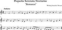 Pequeña Serenata Nocturna. Romanza  Mozart