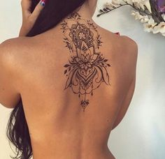 Imagem de tattoo, back, and ink