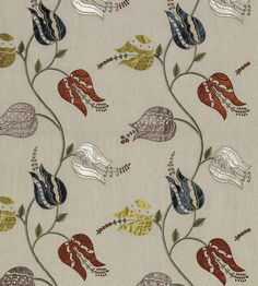 Isfahan Tulip Wallpaper by Osborne & Little   Jane Clayton