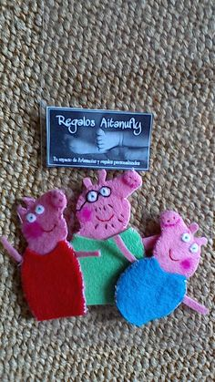 Marionetas pepa pig