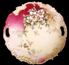 Open Handled Cake Platter