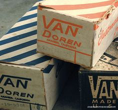 The History of Vans Shoes