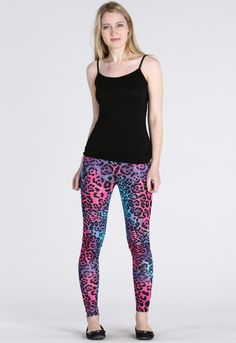 MULTI ANIMAL PRINT LEGGING