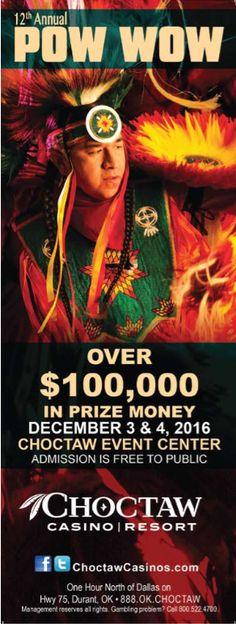 12th Annual Pow wow, Choctaw Casino & Resort