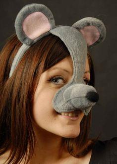 Mouse Mask On Headband