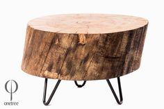 Stolik+kawowy+z+drewna+dębu+-+plaster+009.+w+Onetree+na+DaWanda.com.   1200 zl