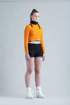 Grid Crop Sweater via Edward Stothers. Click on the image to see more!