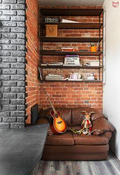 Фотография: Балкон в стиле Лофт, Эклектика, Квартира, Проект недели, Москва…