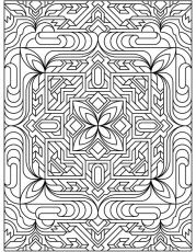 Free tessellations coloring pages coloring pages for for Mc escher tessellations coloring pages