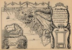 """""""This Map in every particular copied with a Pen from an Old Plat of CHARLESTOWN dated 1671"""""""