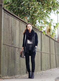 Rouge Fox / all black everything //  #Fashion, #FashionBlog, #FashionBlogger, #Ootd, #OutfitOfTheDay, #Style