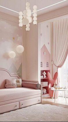 Modern Kids Bedroom, Bedroom Decor For Small Rooms, Kids Bedroom Designs, Room Decor Bedroom, Home Bedroom, Baby Room Set, Baby Room Decor, Living Room Sofa Design, Living Room Decor Cozy