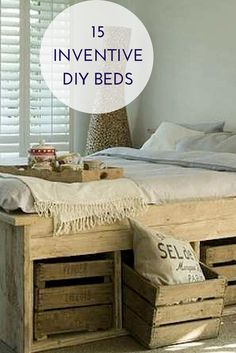 Simple and stunning ideas for DIY beds you can make yourself