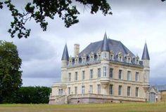 My fairytale castle... Love the slate blue against the sky!