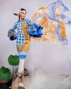 Sana Safinaz Chiffon Eid Collection 2017