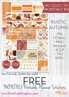 FREE Rustic Autumn F