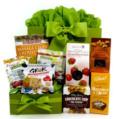 Healthy Gourmet Gifts - Snacks on the Run Gourmet, $59.00 (http://www.healthygourmetgifts.com/snacks-on-the-run/)
