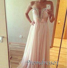 2015 cute sweetheart pink beaded slim modest long prom dress, ball gown, cute+dress+for+teens #promdress