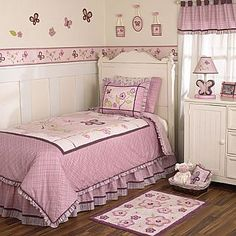 CoCaLo Products : Nursery Collections : Girl : Sugar Plum Twin/Full Bedding - Sold out everywhere... :(