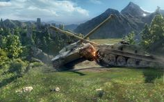A great World of Tanks wallpaper. World of tanks is free to play. World Of Tanks, Nu Metal, Black Metal, World Of Warcraft, Tank Wallpaper, Tank Warfare, Riot Points, Tank Armor, Viking Metal