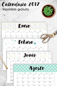 Calendario descargable 2017