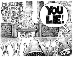 Pope You Lie © John Darkow,Columbia Daily Tribune, Missouri,Pope Francis, GOP, Climate Change, Iran Nuclear Deal, Economic Equality