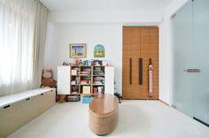 Apartment in Bucharest - Interior Design Work, Urban Architecture, Bucharest, Travertine, Landscape Design, Children, Kids, Living Room, Lifestyle