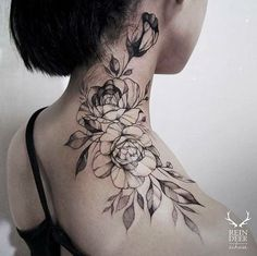 coolTop Body - Tattoo's - 33+ Attractive Neck Tattoos Ideas You'll Love