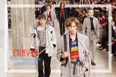 #fashion #pfw #Paris #FashionWeek #Homme #SS17: #Lanvin #menswear