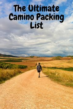 This is the ultimate packing list for walking the Camino de Santiago.
