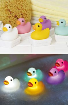 Duck Bath Light // I just ADORE these cute duckies by Dreams Inc.! #product_design