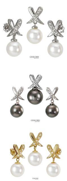 Piękne komplety w modnych oprawach z perłami Tahiti lub Akoya. Wybór nie należy do łatwych. #perły #pearls #akoya #tahiti #kolczyki #earrings #zawieszka #wisiorek #pendant #komplet #set #damenty #diamonds #elegance #style #luxury #beauty #fashion