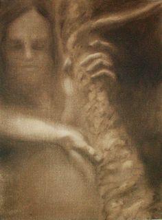 Blind XI  Oil on canvas  © Patricia Benitez