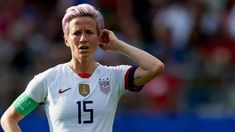 World Cup Games, Women's World Cup, Bbc Football, Singing The National Anthem, Megan Rapinoe, Us Soccer, Win Or Lose, Wnba, Us Presidents